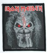 Iron Maiden - 'Eddie Candle Finger' Woven Patch